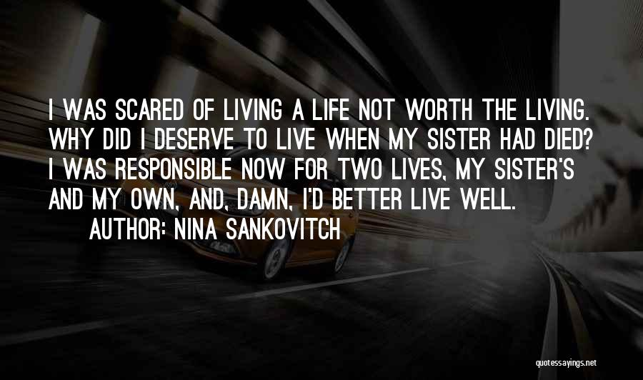 Grieving Loss Quotes By Nina Sankovitch