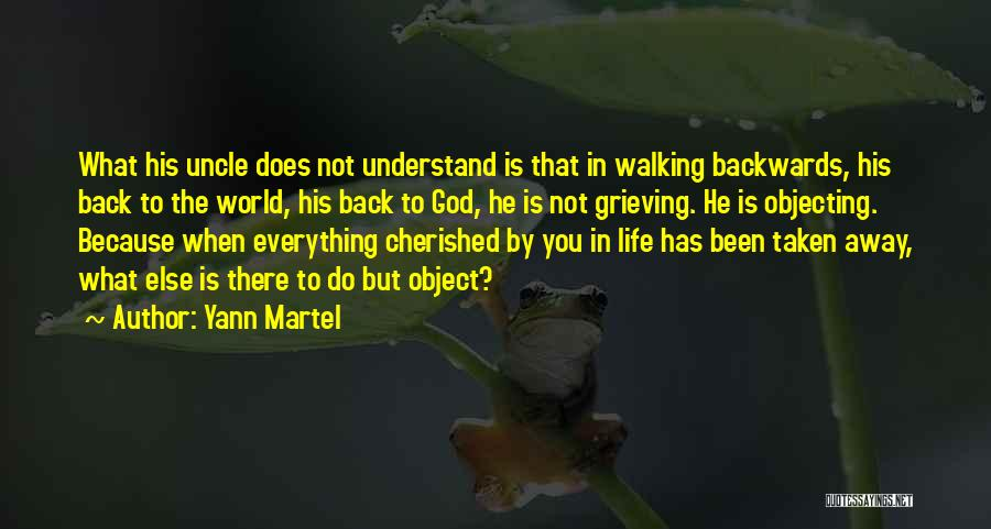 Grieving Loss Quotes By Yann Martel