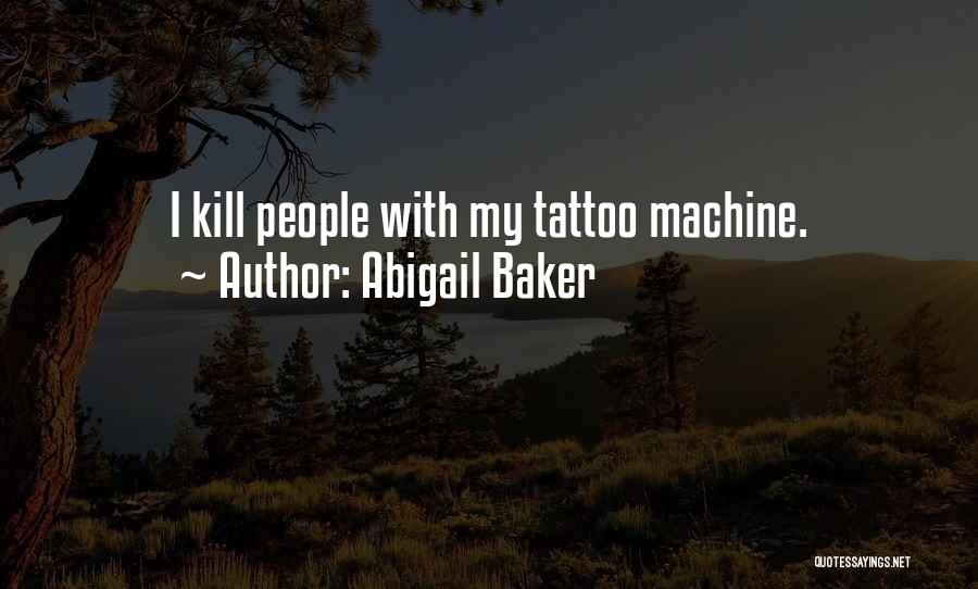 Grim Reaper Quotes By Abigail Baker