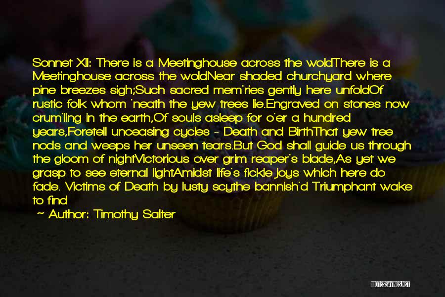 Grim Reaper Quotes By Timothy Salter
