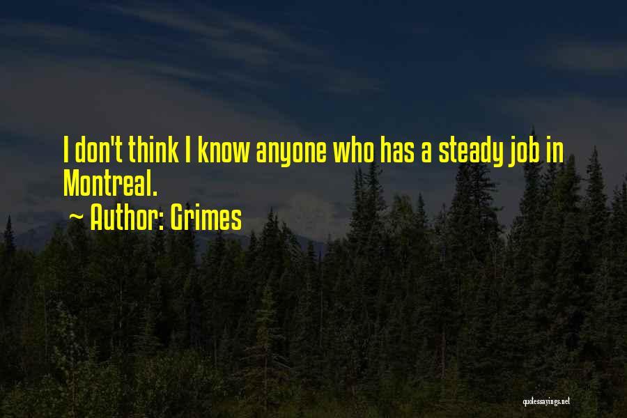 Grimes Quotes 1231467