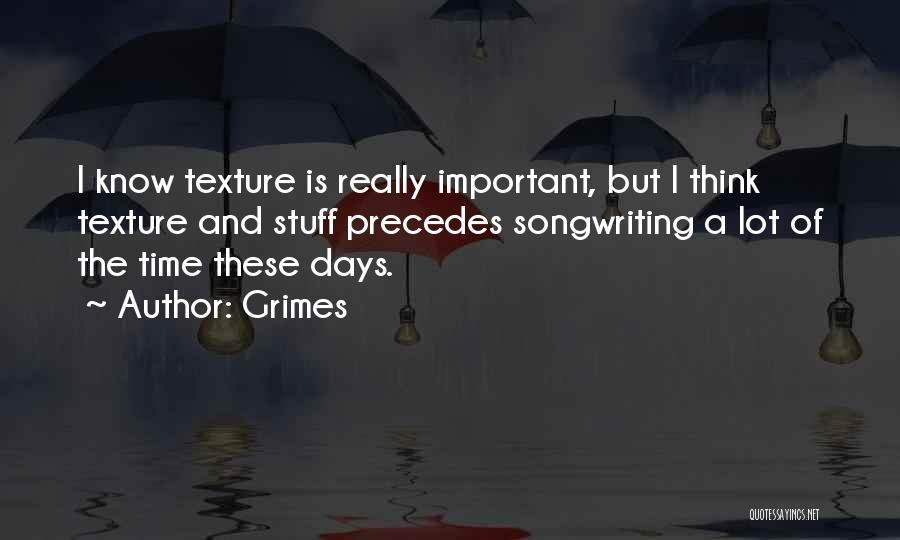 Grimes Quotes 1530080