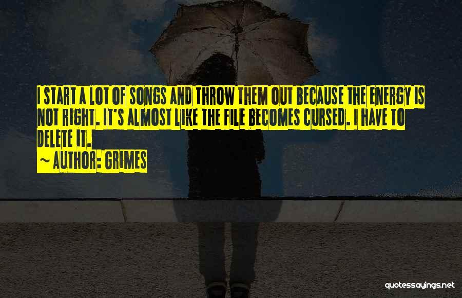 Grimes Quotes 1763643