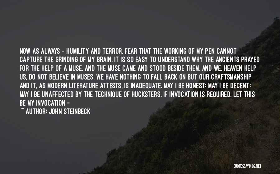 Grinding Quotes By John Steinbeck