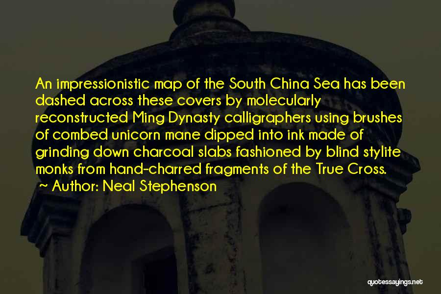 Grinding Quotes By Neal Stephenson