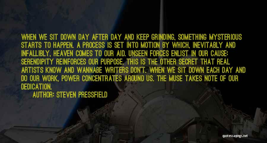 Grinding Quotes By Steven Pressfield