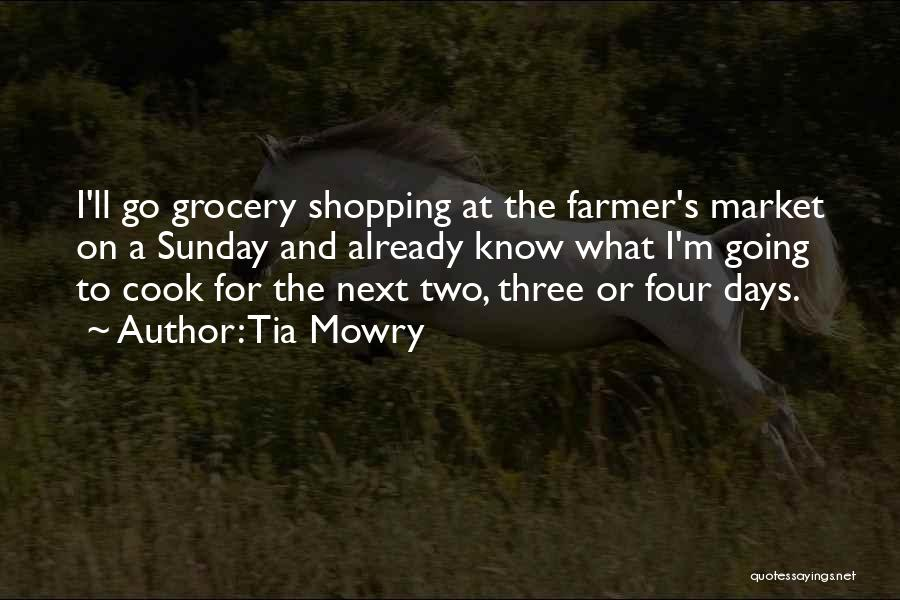 Grocery Quotes By Tia Mowry