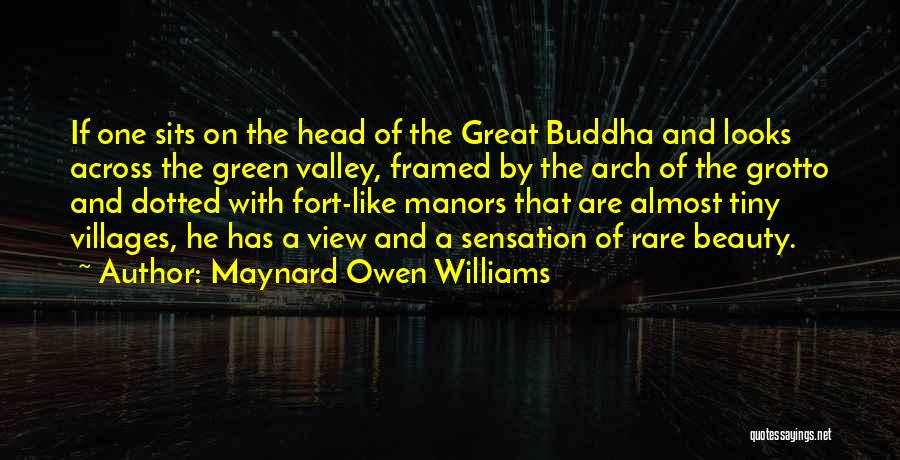 Grotto Quotes By Maynard Owen Williams