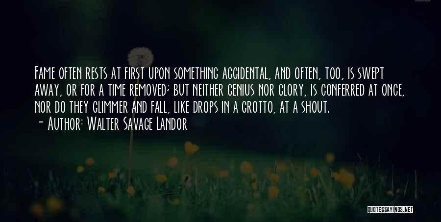 Grotto Quotes By Walter Savage Landor
