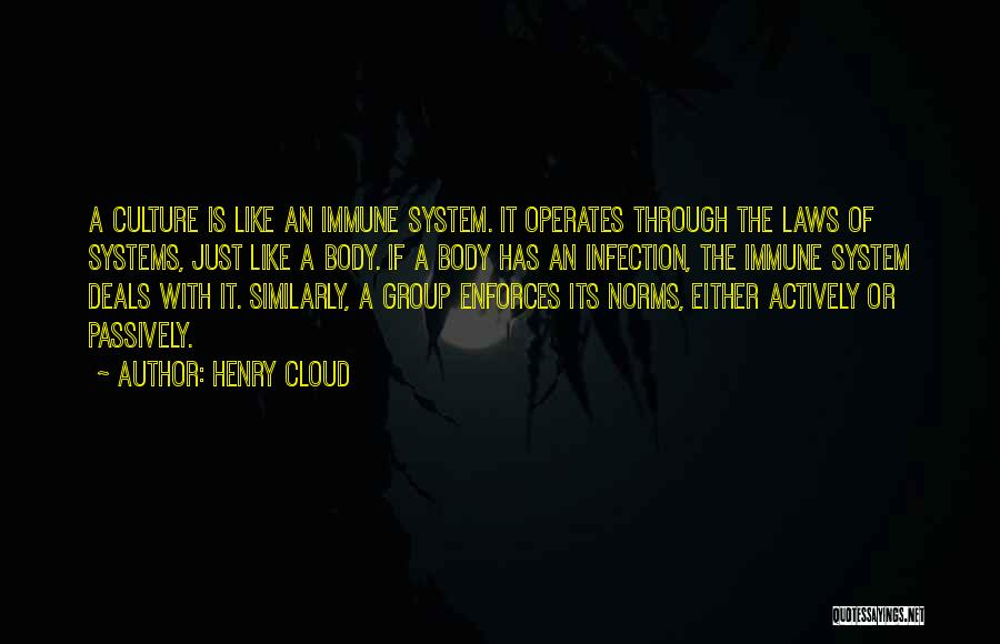 Group Norms Quotes By Henry Cloud