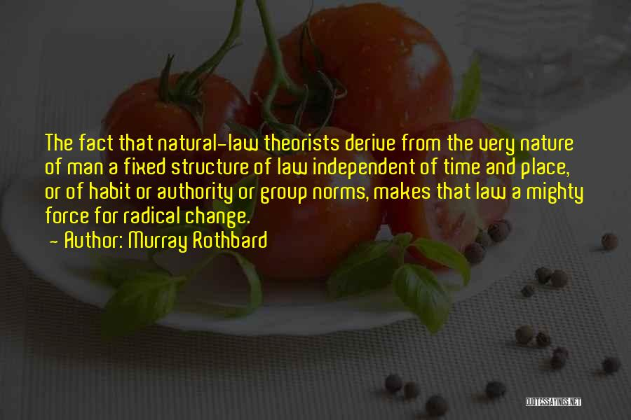 Group Norms Quotes By Murray Rothbard