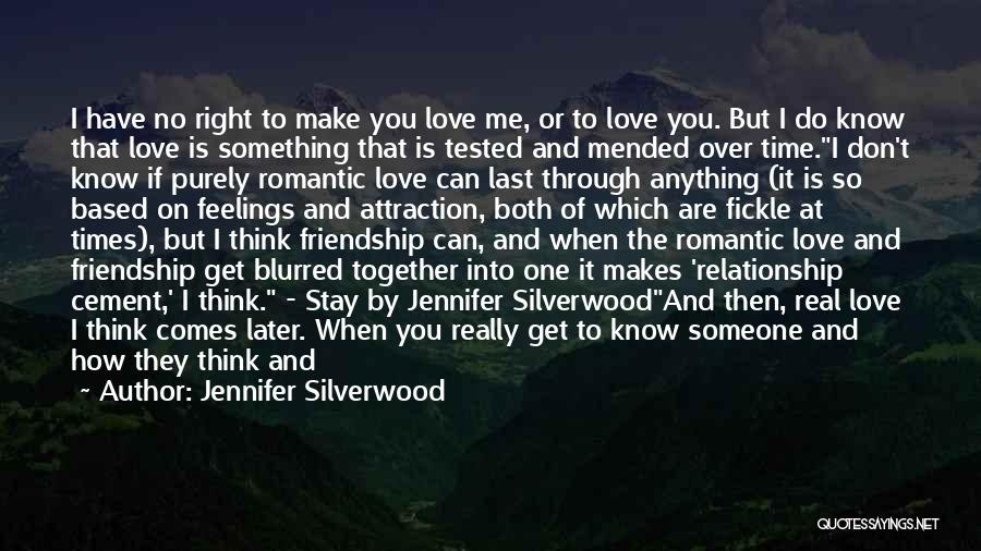 Grow Old Together Love Quotes By Jennifer Silverwood