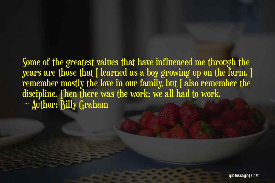 Growing As A Family Quotes By Billy Graham