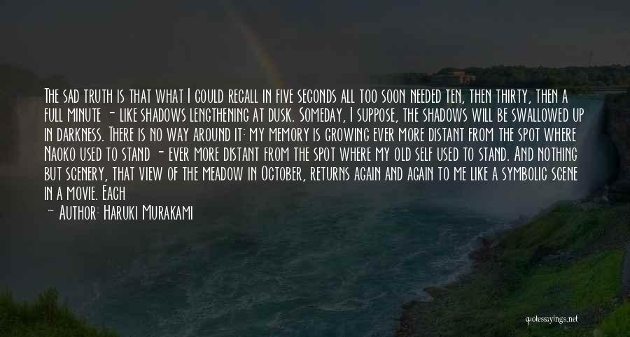 Growing Old With Someone Quotes By Haruki Murakami