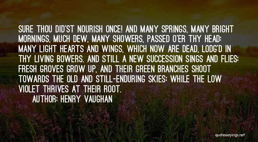 Growing Old With Someone Quotes By Henry Vaughan