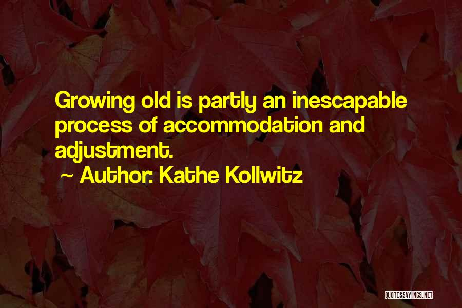Growing Old With Someone Quotes By Kathe Kollwitz