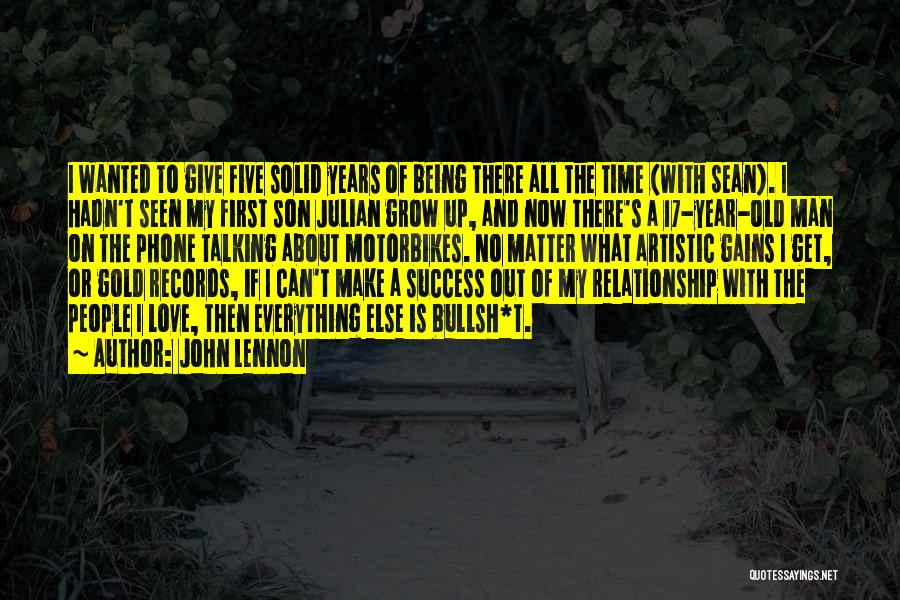 Growing Old With Your Love Quotes By John Lennon