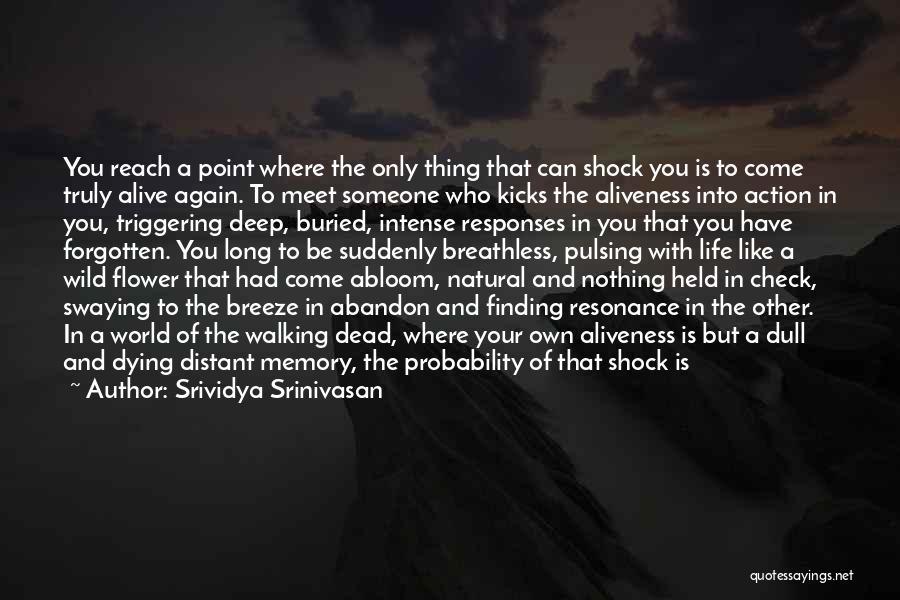 Growing Weary Quotes By Srividya Srinivasan