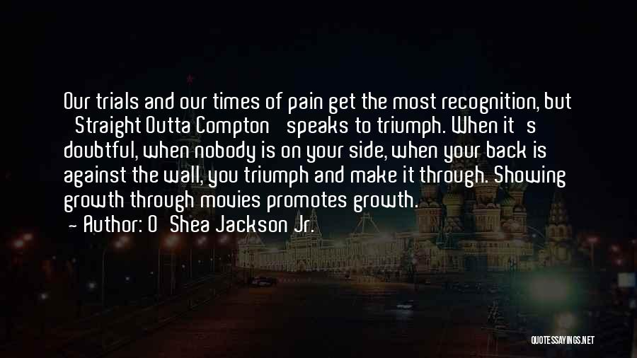 Growth Through Pain Quotes By O'Shea Jackson Jr.
