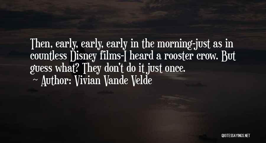 Guess The Disney Quotes By Vivian Vande Velde