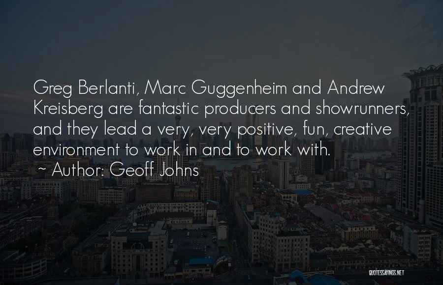Guggenheim Quotes By Geoff Johns