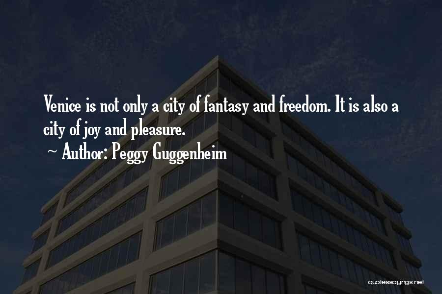 Guggenheim Quotes By Peggy Guggenheim