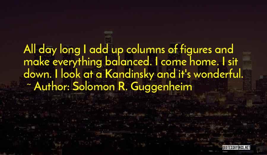 Guggenheim Quotes By Solomon R. Guggenheim