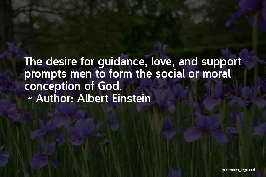 Guidance Of God Quotes By Albert Einstein