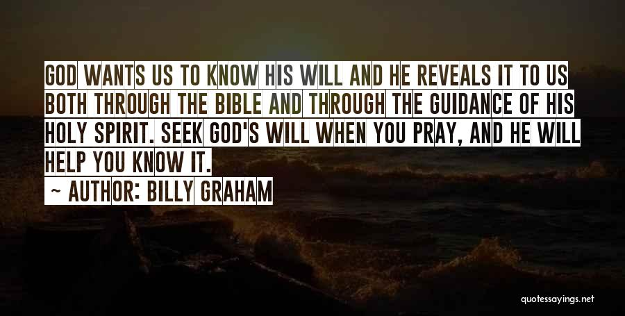 Guidance Of God Quotes By Billy Graham