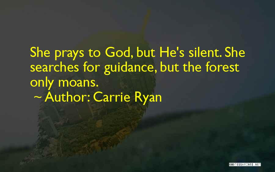 Guidance Of God Quotes By Carrie Ryan