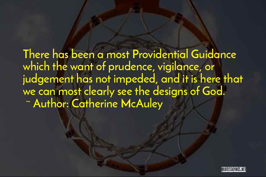 Guidance Of God Quotes By Catherine McAuley