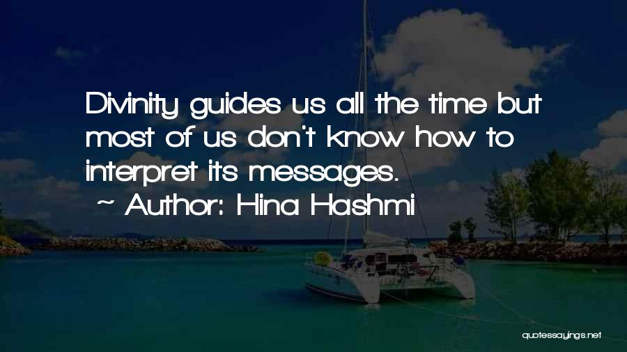Guidance Of God Quotes By Hina Hashmi