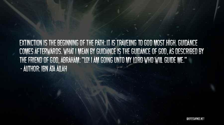 Guidance Of God Quotes By Ibn Ata Allah