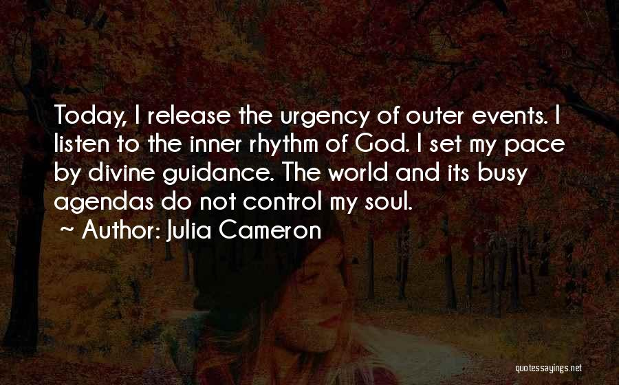Guidance Of God Quotes By Julia Cameron