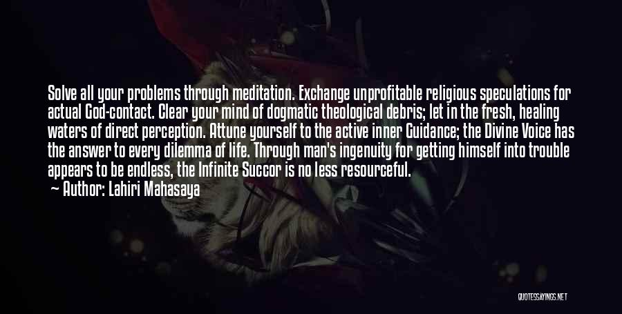 Guidance Of God Quotes By Lahiri Mahasaya