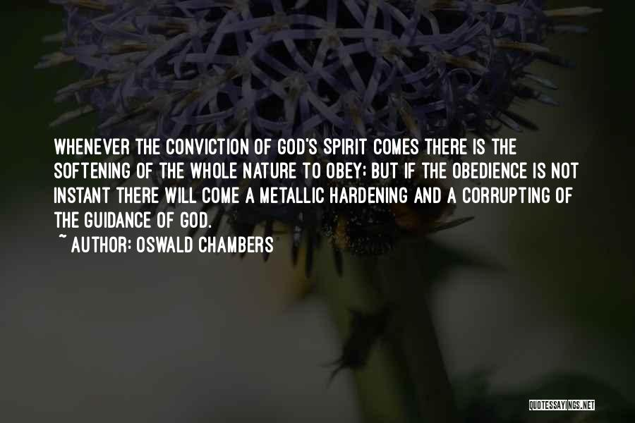 Guidance Of God Quotes By Oswald Chambers
