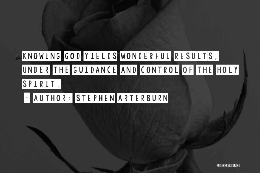 Guidance Of God Quotes By Stephen Arterburn