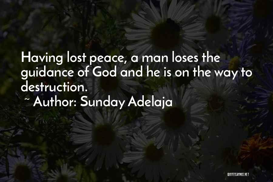 Guidance Of God Quotes By Sunday Adelaja