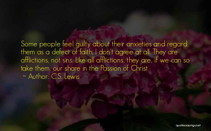Guilty As A Quotes By C.S. Lewis