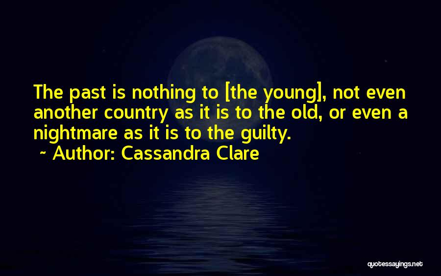 Guilty As A Quotes By Cassandra Clare