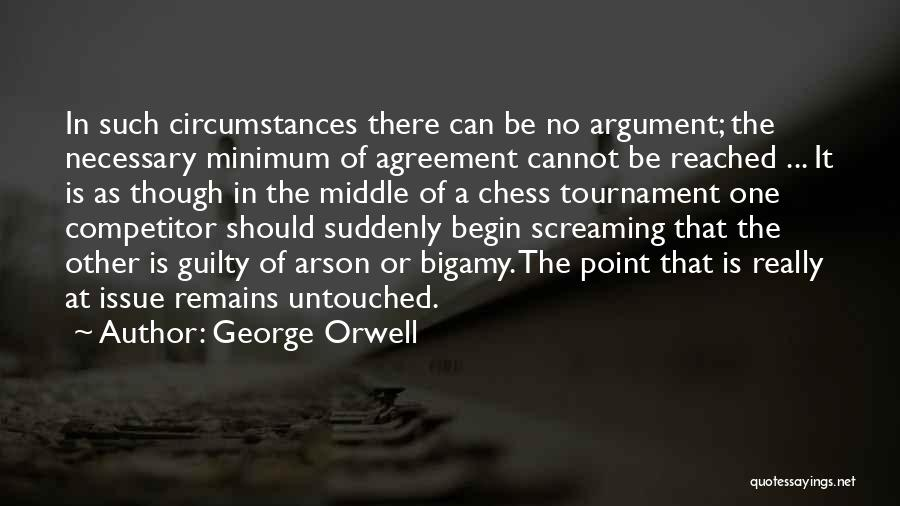 Guilty As A Quotes By George Orwell