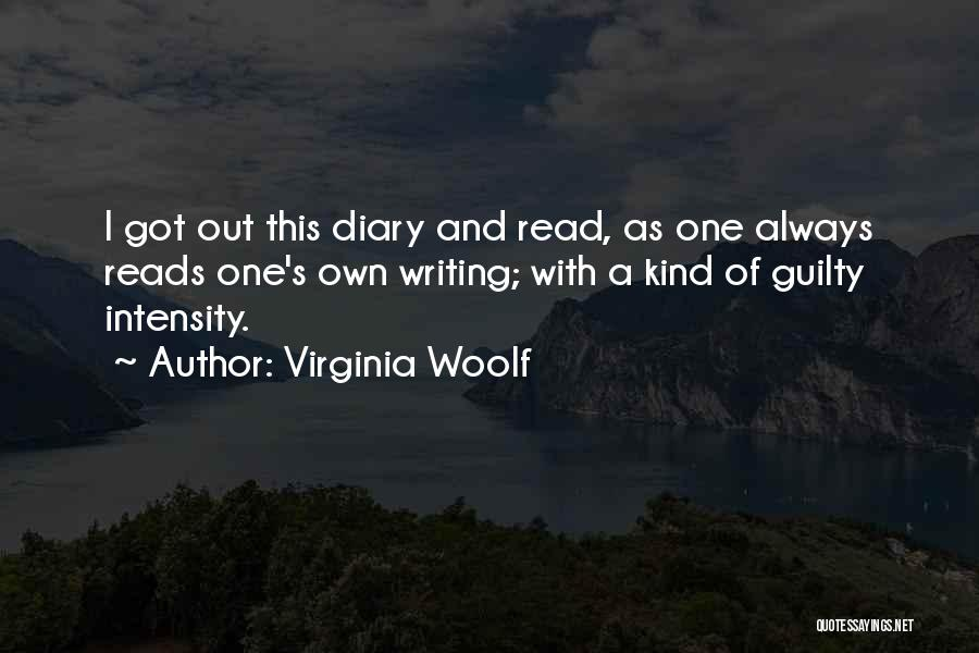 Guilty As A Quotes By Virginia Woolf