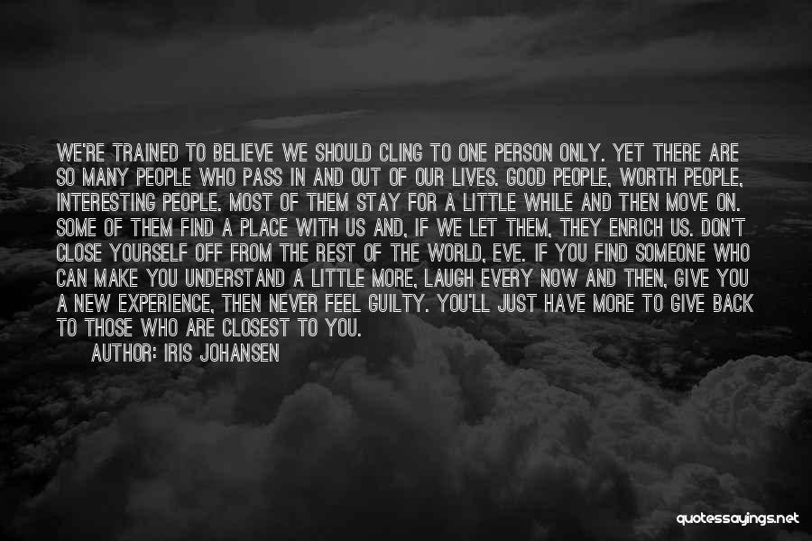 Guilty Person Quotes By Iris Johansen