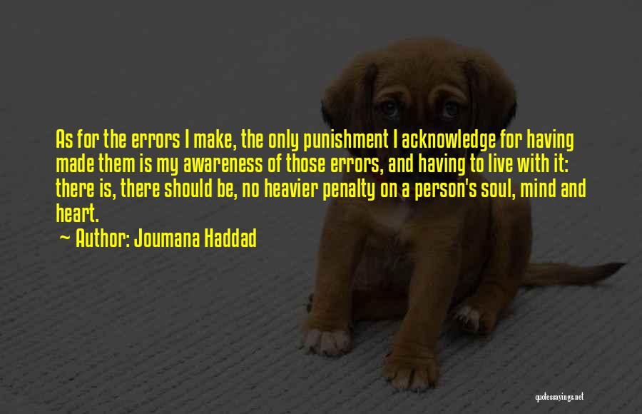 Guilty Person Quotes By Joumana Haddad