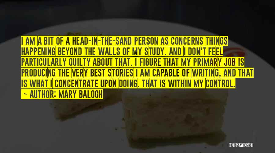 Guilty Person Quotes By Mary Balogh