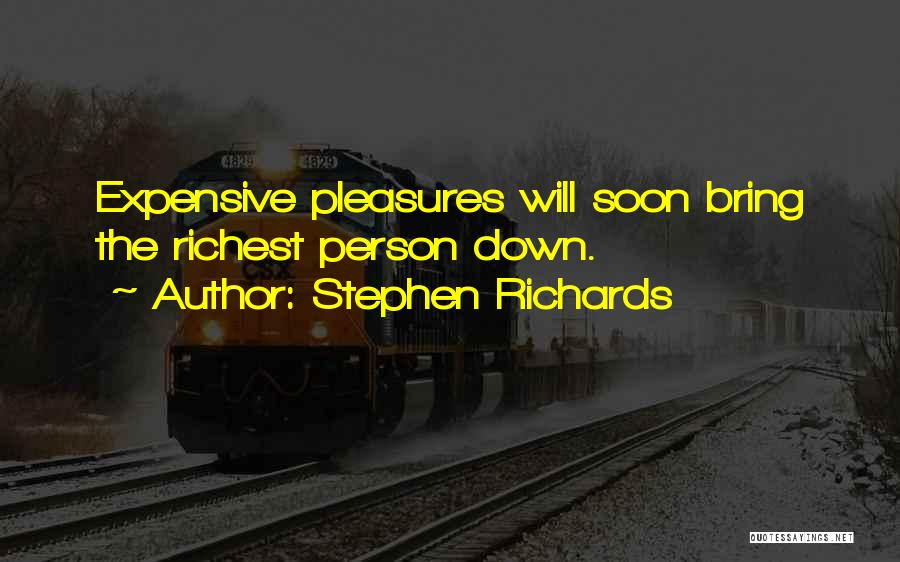 Guilty Person Quotes By Stephen Richards