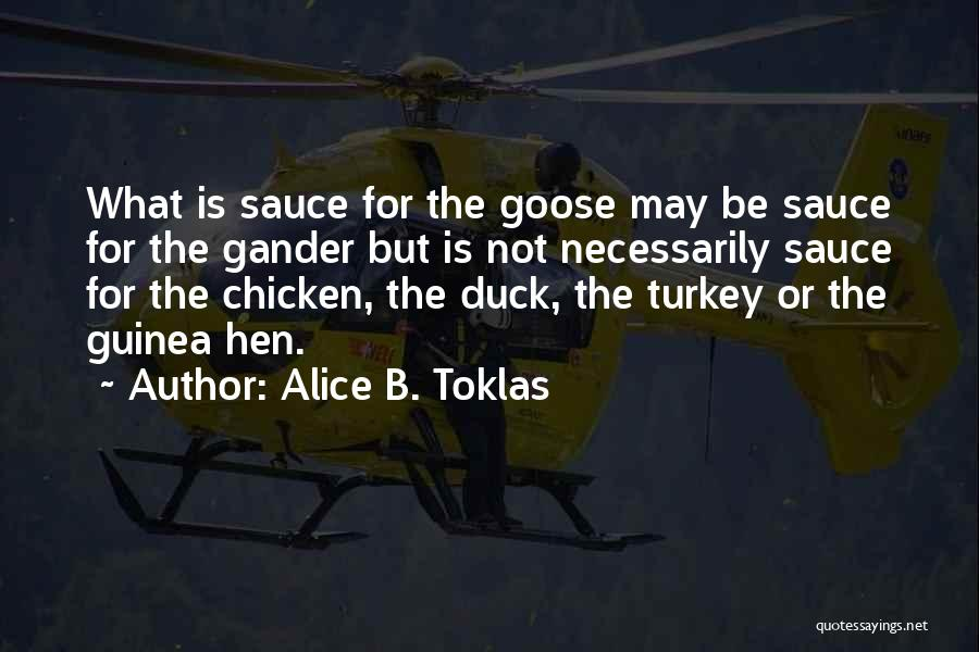 Guinea Quotes By Alice B. Toklas