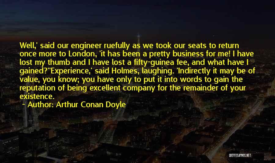 Guinea Quotes By Arthur Conan Doyle