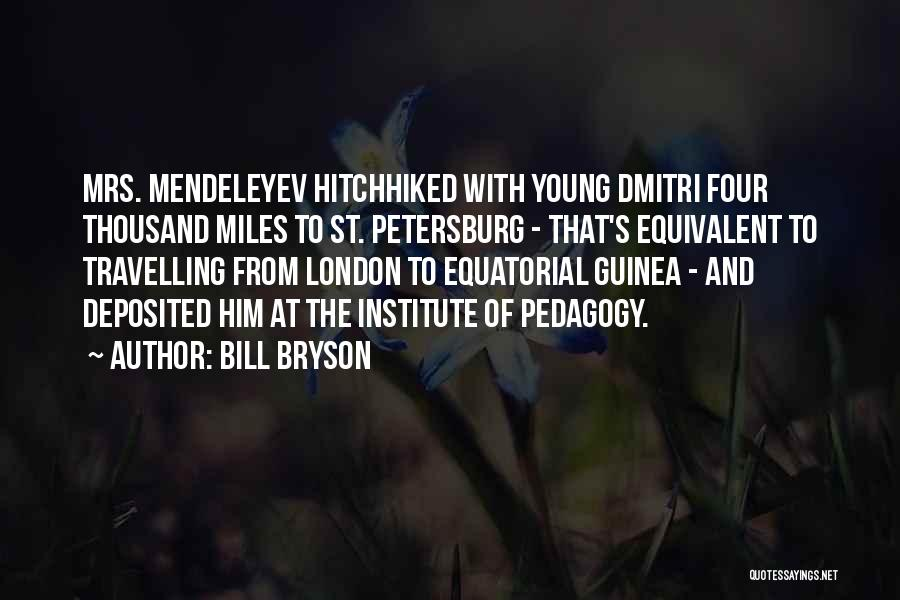 Guinea Quotes By Bill Bryson