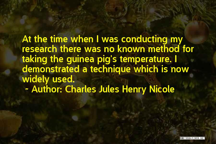 Guinea Quotes By Charles Jules Henry Nicole